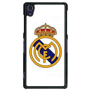 1 Crazy Designer Real Madrid Back Cover Case For Sony Xperia Z1 C470584