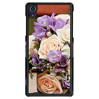 1 Crazy Designer Roses Back Cover Case For Sony Xperia Z1 C470711