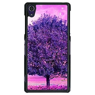 1 Crazy Designer Whishing Tree Back Cover Case For Sony Xperia Z1 C470718
