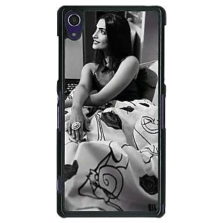 1 Crazy Designer Bollywood Superstar Sonam Kapoor Back Cover Case For Sony Xperia Z1 C470974