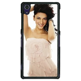 1 Crazy Designer Bollywood Superstar Shruti Hassan Back Cover Case For Sony Xperia Z1 C470985