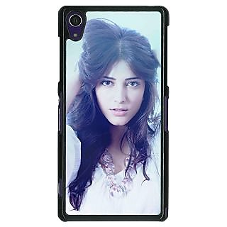 1 Crazy Designer Bollywood Superstar Shruti Hassan Back Cover Case For Sony Xperia Z1 C470988