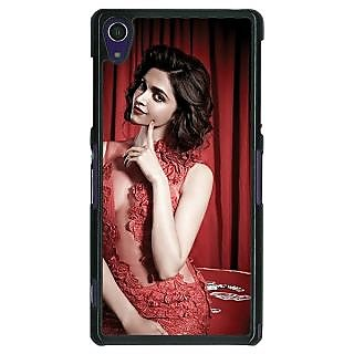 1 Crazy Designer Bollywood Superstar Deepika Padukone Back Cover Case For Sony Xperia Z1 C471002
