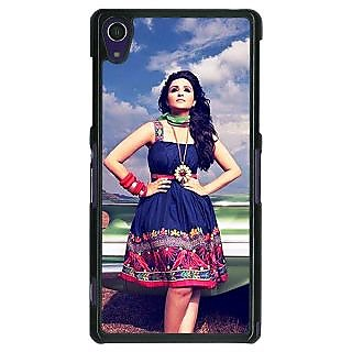 1 Crazy Designer Bollywood Superstar Parineeti Chopra Back Cover Case For Sony Xperia Z1 C471003