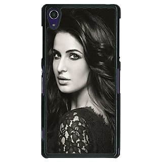 1 Crazy Designer Bollywood Superstar Katrina Kaif Back Cover Case For Sony Xperia Z1 C471005