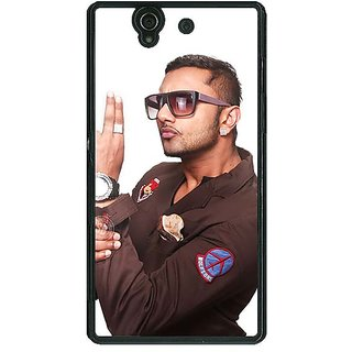 1 Crazy Designer Bollywood Superstar Honey Singh Back Cover Case For Sony Xperia Z C461183
