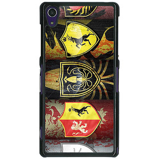 1 Crazy Designer Game Of Thrones GOT  Back Cover Case For Sony Xperia Z1 C470117