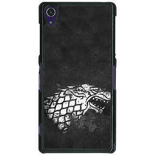 1 Crazy Designer Game Of Thrones GOT House Stark  Back Cover Case For Sony Xperia Z1 C470125