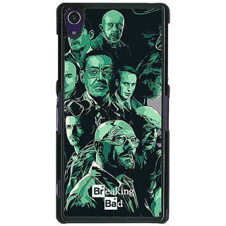 1 Crazy Designer Breaking Bad Heisenberg Back Cover Case For Sony Xperia Z1 C470401