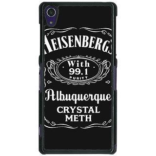 1 Crazy Designer Breaking Bad Heisenberg Back Cover Case For Sony Xperia Z1 C470402