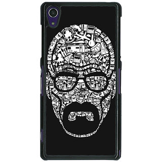 1 Crazy Designer Breaking Bad Heisenberg Back Cover Case For Sony Xperia Z1 C470407