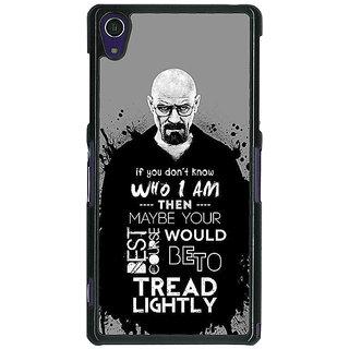 1 Crazy Designer Breaking Bad Heisenberg Back Cover Case For Sony Xperia Z1 C470427