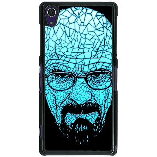 1 Crazy Designer Breaking Bad Heisenberg Back Cover Case For Sony Xperia Z1 C470428