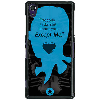 1 Crazy Designer Entourage E Back Cover Case For Sony Xperia Z1 C470437
