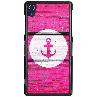 1 Crazy Designer Anchor Back Cover Case For Sony Xperia Z1 C470606