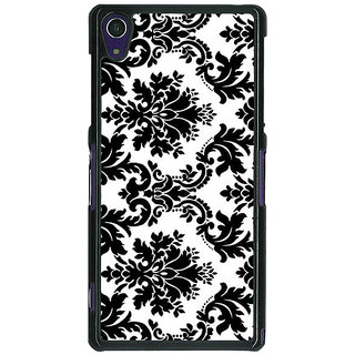 1 Crazy Designer Pattern  Back Cover Case For Sony Xperia Z1 C470772