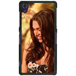 1 Crazy Designer Bollywood Superstar Deepika Padukone Back Cover Case For Sony Xperia Z1 C471032