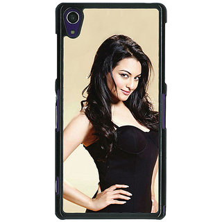 1 Crazy Designer Bollywood Superstar Sonakshi Sinha Back Cover Case For Sony Xperia Z1 C471068