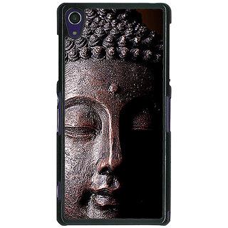 1 Crazy Designer Gautam Buddha Back Cover Case For Sony Xperia Z1 C471285