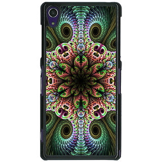 1 Crazy Designer Paisley Beautiful Peacock Back Cover Case For Sony Xperia Z1 C471597