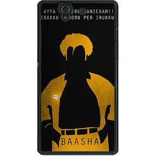 1 Crazy Designer Rajni Rajanikant Back Cover Case For Sony Xperia Z C461481