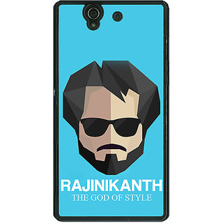 1 Crazy Designer Rajni Rajanikant Back Cover Case For Sony Xperia Z C461483