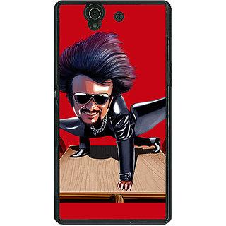 1 Crazy Designer Rajni Rajanikant Back Cover Case For Sony Xperia Z C461487