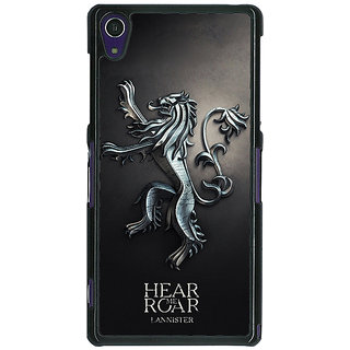 1 Crazy Designer Game Of Thrones GOT House Lannister  Back Cover Case For Sony Xperia Z1 C470165