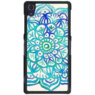 1 Crazy Designer Panda Pattern Back Cover Case For Sony Xperia Z1 C470205