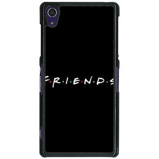 1 Crazy Designer FRIENDS Back Cover Case For Sony Xperia Z1 C470442