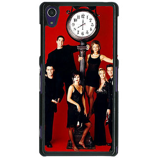 1 Crazy Designer FRIENDS Back Cover Case For Sony Xperia Z1 C470445