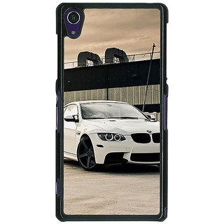 1 Crazy Designer Super Car BMW Back Cover Case For Sony Xperia Z1 C470625