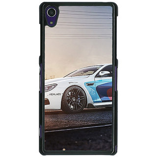 1 Crazy Designer Super Car BMW Back Cover Case For Sony Xperia Z1 C470626