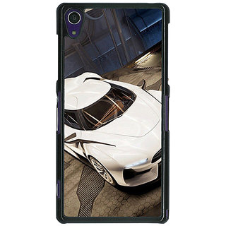 1 Crazy Designer Super Car Aston Martin Back Cover Case For Sony Xperia Z1 C470629