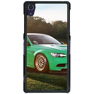 1 Crazy Designer Super Car BMW Back Cover Case For Sony Xperia Z1 C470634