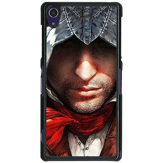1 Crazy Designer Assassins Creed Back Cover Case For Sony Xperia Z1 C470842