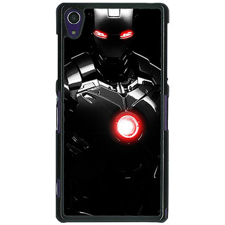 1 Crazy Designer Iron Man Super Heroes Back Cover Case For Sony Xperia Z1 C470850