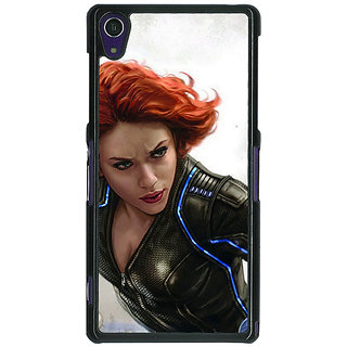 1 Crazy Designer Super Heroes Avengers Age of Ultron Back Cover Case For Sony Xperia Z1 C470851