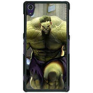 1 Crazy Designer The Incredible Hulk Back Cover Case For Sony Xperia Z1 C470857