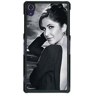 1 Crazy Designer Bollywood Superstar Katrina Kaif Back Cover Case For Sony Xperia Z1 C471073