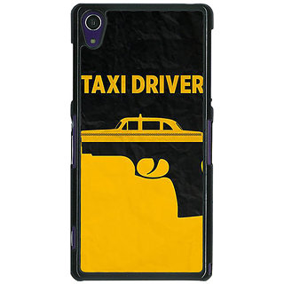 1 Crazy Designer Hollywood Taxi Driver Back Cover Case For Sony Xperia Z1 C471095