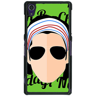 1 Crazy Designer Bollywood Superstar Rock On Back Cover Case For Sony Xperia Z1 C471100