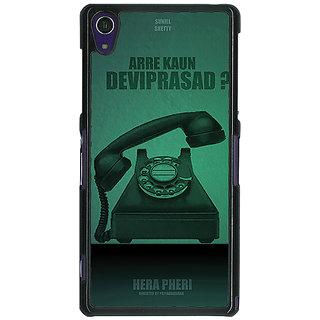1 Crazy Designer Bollywood Superstar Hera Pheri Devi Prasad Back Cover Case For Sony Xperia Z1 C471112