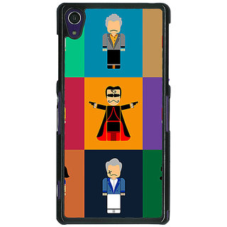 1 Crazy Designer Bollywood Superstar Villain Back Cover Case For Sony Xperia Z1 C471118