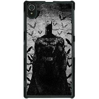 1 Crazy Designer Superheroes Batman Dark knight Back Cover Case For Sony Xperia Z2 C480008