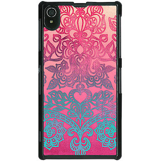 1 Crazy Designer Princess Pattern Back Cover Case For Sony Xperia Z2 C480229