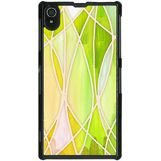1 Crazy Designer Designer Geometry Pattern Back Cover Case For Sony Xperia Z2 C480236