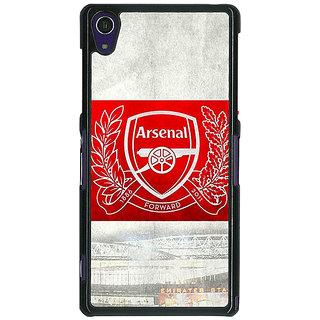 1 Crazy Designer Arsenal Alexis Sanchez Back Cover Case For Sony Xperia Z1 C470510