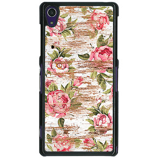 1 Crazy Designer Floral Pattern  Back Cover Case For Sony Xperia Z1 C470658