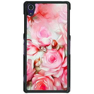 1 Crazy Designer Floral Pattern  Back Cover Case For Sony Xperia Z1 C470666